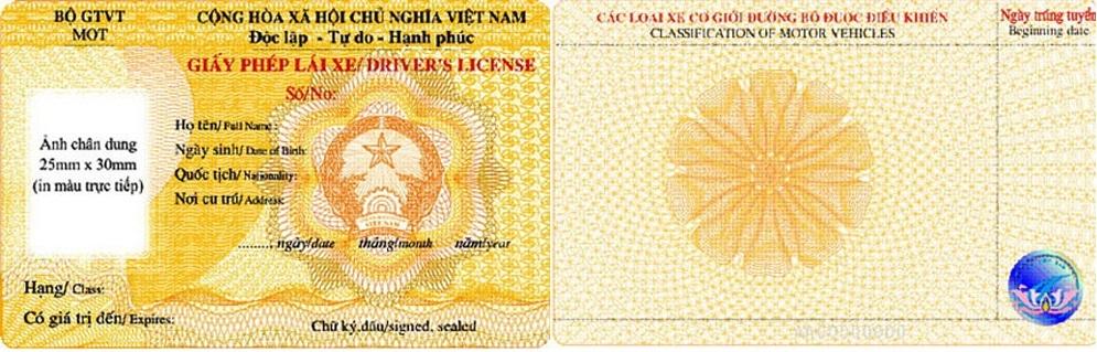 Thủ tục cấp lại giấy phép lái xe bị mất 1 số trường hợp
